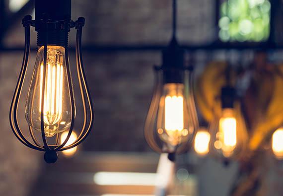 éclairage commerciale